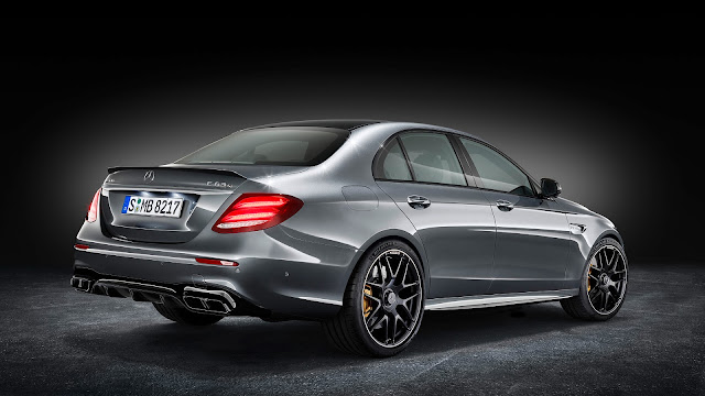 New 2018 Mercedes-AMG E 63 S 4MATIC+ three qauter look