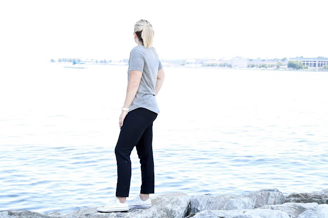 lululemon love-tee trek-trouser
