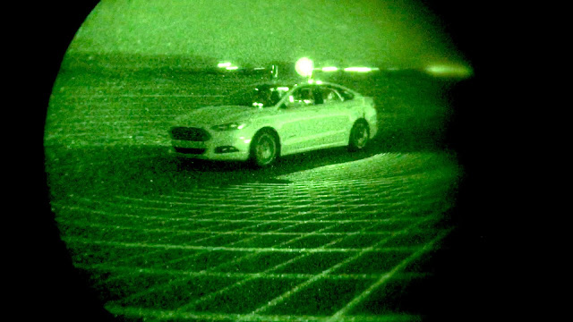 The Ford LiDAR Night Vision Sensor Technology