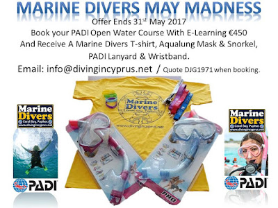 May Open Water Course Offer.........Book Now!