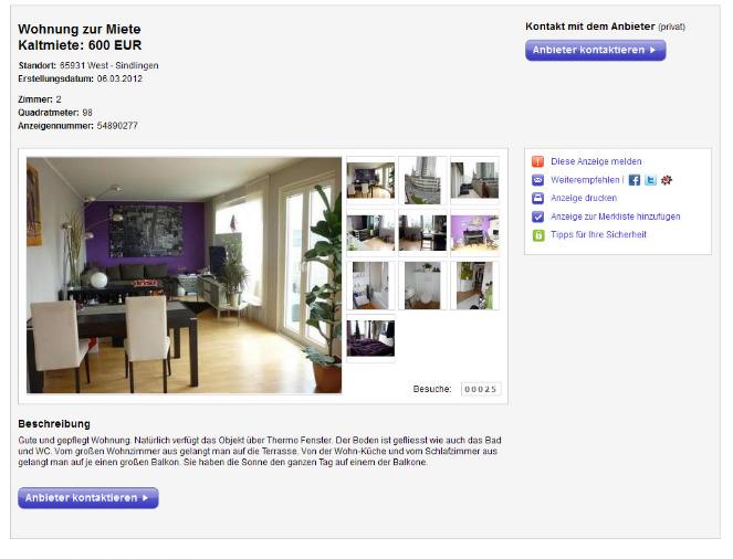 ebay wohnung frankfurt zimmer wohnung husum mieten. Black Bedroom Furniture Sets. Home Design Ideas
