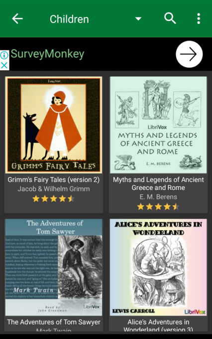 Audiobooks for the Classroom: Websites, YouTube and Mobile Apps