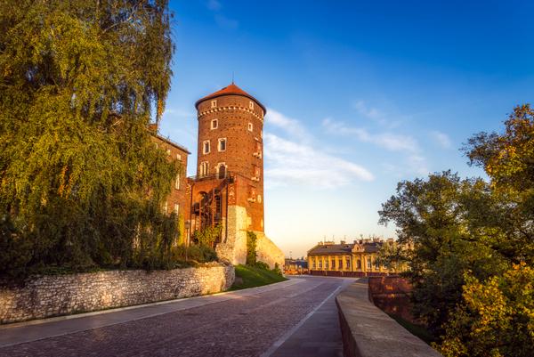 Torre Sandomierska (Cracovia, Polonia)