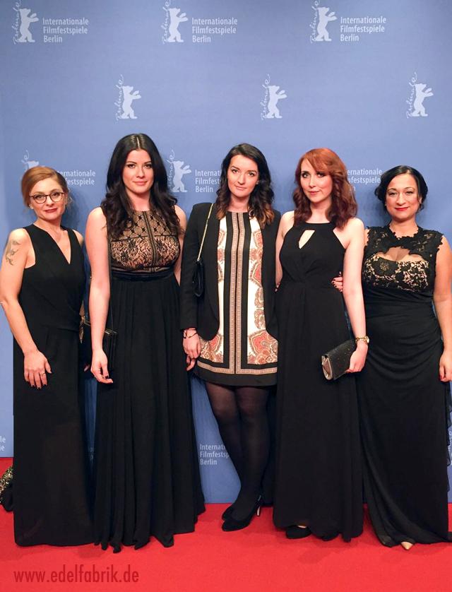 die L'Oréal Bloggerinnen auf dem Red Carpet