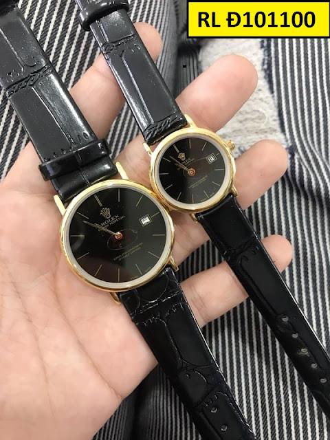Đồng hồ dây da RL Đ101100