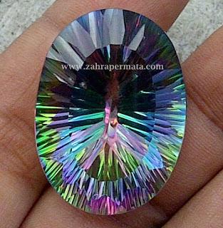 Batu Permata Mystic Quartz Jumbo - ZP 301