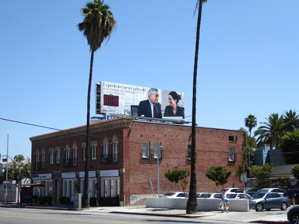 Intern film billboard
