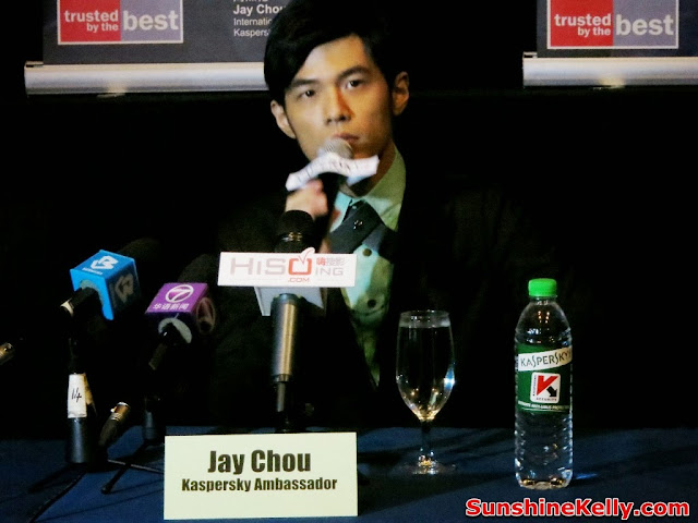 Kapersky, Internet Security 2014 Launch, Jay Chou