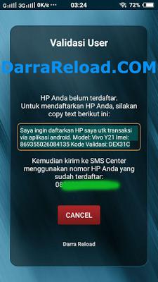 Aplikasi Android Darra Reload