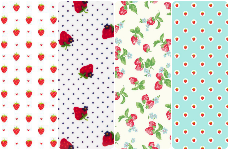 fondo de pantalla whatsapp watermelon strawberries fresas pattern texture wallpaper iphone