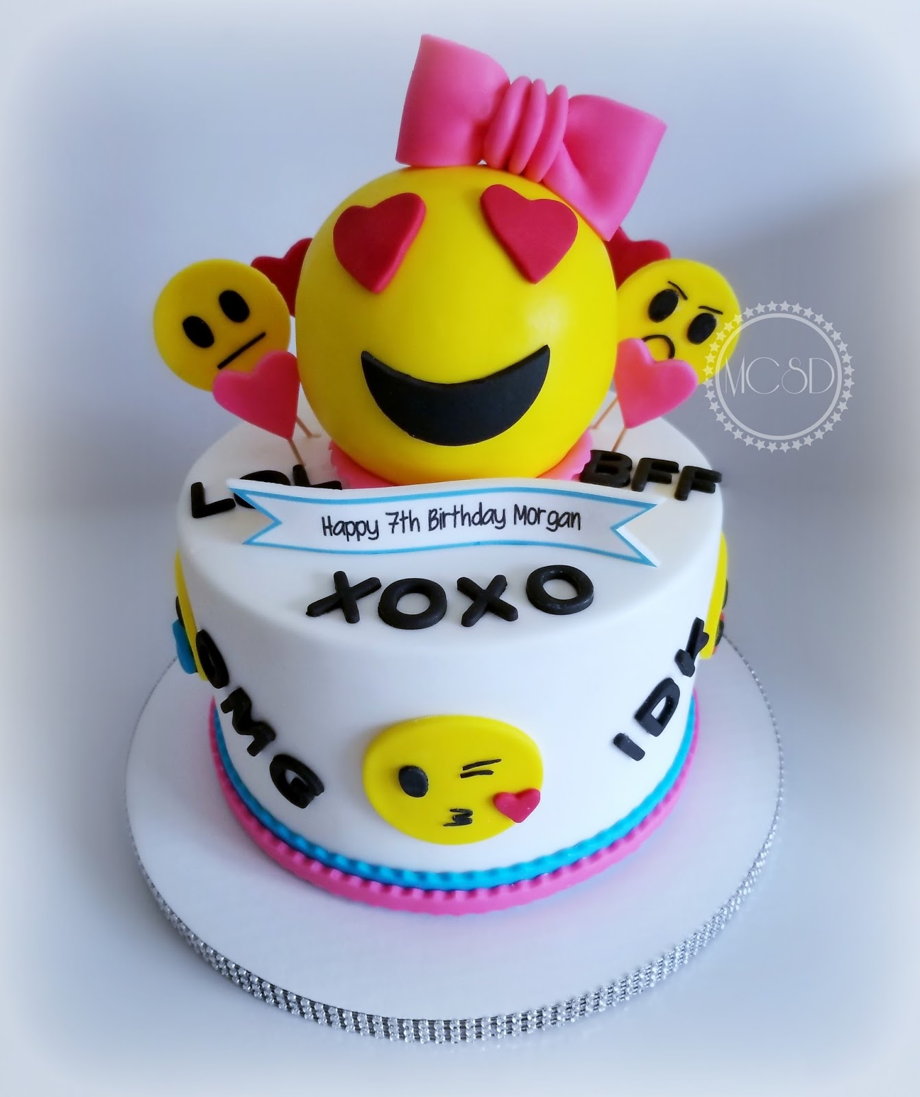 MyCakeSweetDreams Emoji Birthday Cake