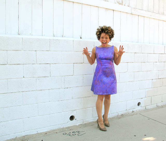 oonaballoona | a sewing blog by marcy harriell | burdastyle space dress