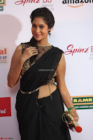 Sindhu looks fabulous in Black Saree designer choli at Mirchi Music Awards South 2017 ~  Exclusive Celebrities Galleries 005.JPG