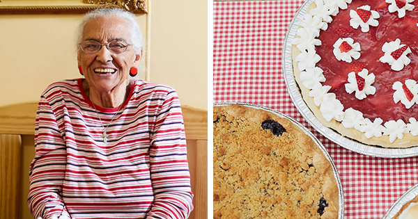 Mary Woodruff, 103-year old founder of Woodruff's Cafe & Pie Shop