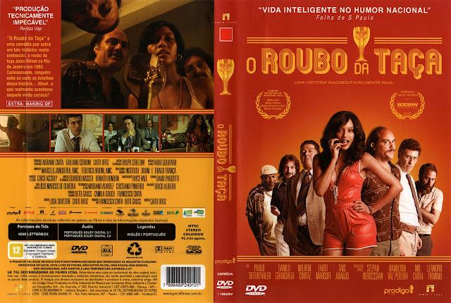 Capa DVD O Roubo da Taça
