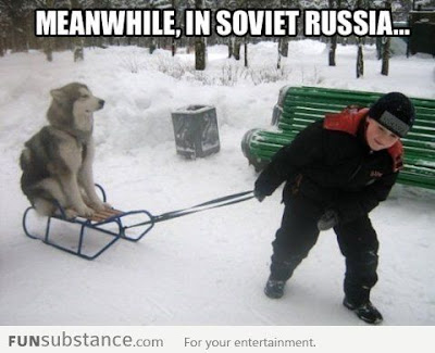Meanwhile in Soviet Russia
