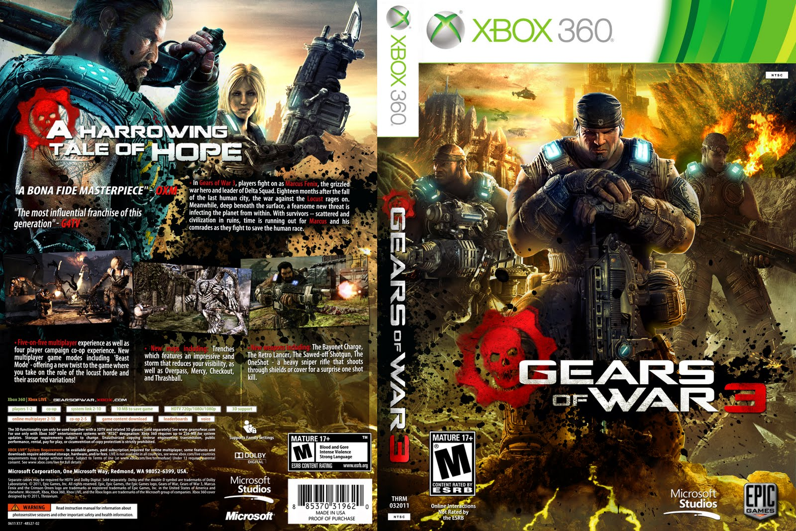 Gears Of War Judgement Wallpaper Hd Games Covers Cover Gears Of War 3 Xbox 360