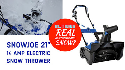 Snow Joe VS Heavy Wet & Deep Snow