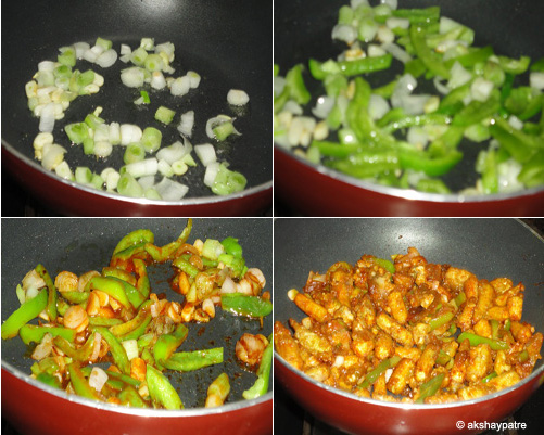 Baby corn manchurian recipe -step 3