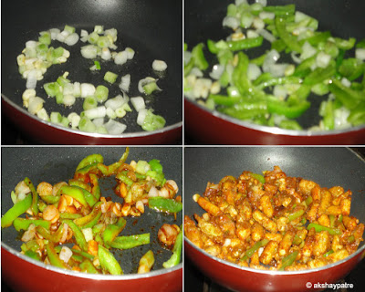 Baby corn manchurian recipe -step 3