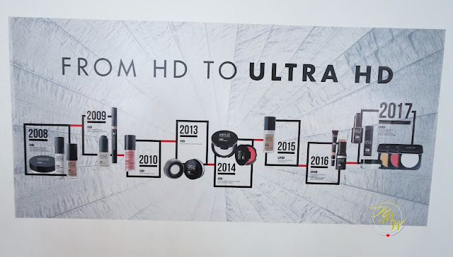 a photo of Make Up For Ever Ultra HD Launch in Manila