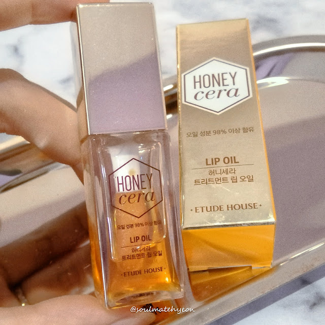 soulmatehyeon; Etude House Honey Cera Lip Oil
