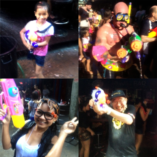 Songkran in Thailand 2012