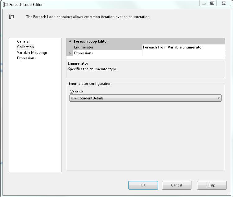 Setting Enumeration type