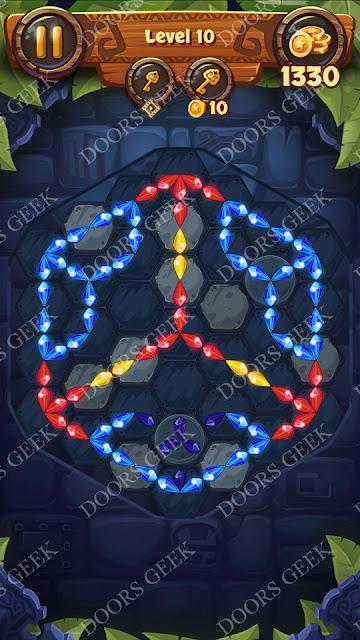 Gems & Magic [Emerald] Level 10 Solution, Walkthrough, Cheats