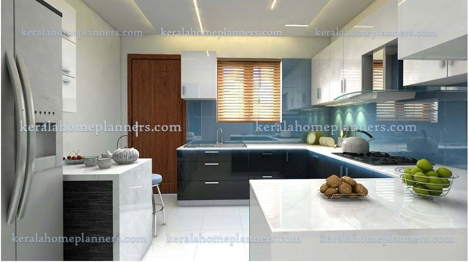 Latest Modern Kitchen Designs From Akathalam Interiors Kannur Free Kerala Home Plans