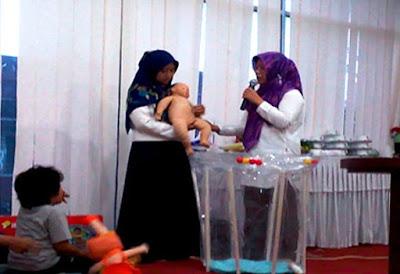 Pelatihan Mom, Kids & Baby Treatment rumah puspa homecare bekasi