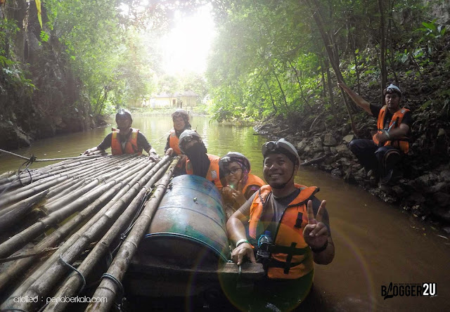 Pond Crossing : Di pintu masuk 6th Mile Tunnel - Lost World of Tambun