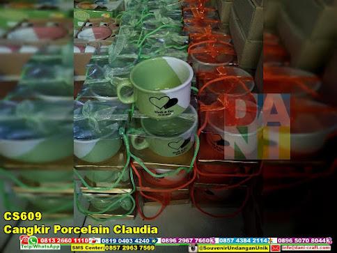 jual Cangkir Porcelain Claudia