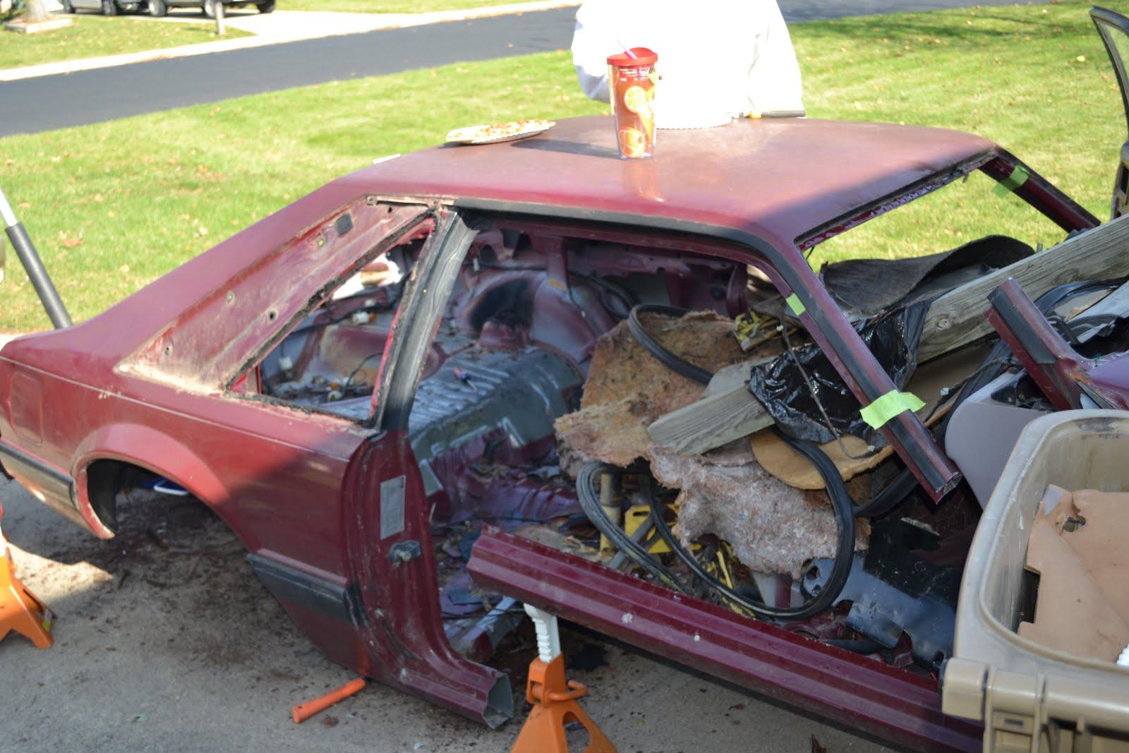 Fox body mustang restoration