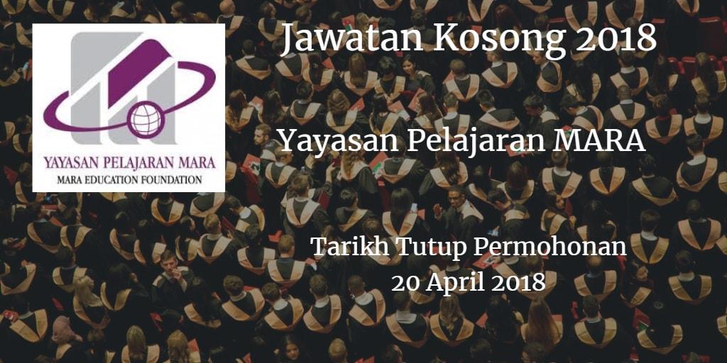Jawatan Kosong YPM 20 April 2018