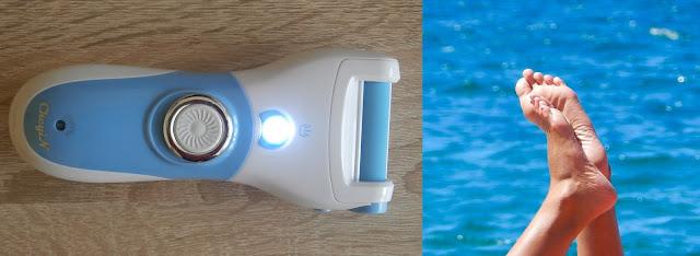 Elektryczny pilnik do stóp z AliExpress - zakup w sam raz na wiosnę (recenzja)