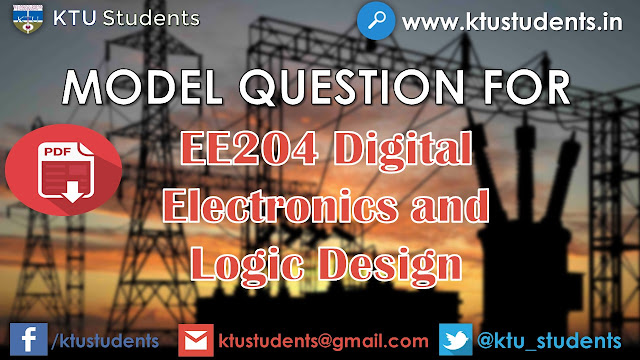 ktu ee204 model question paper