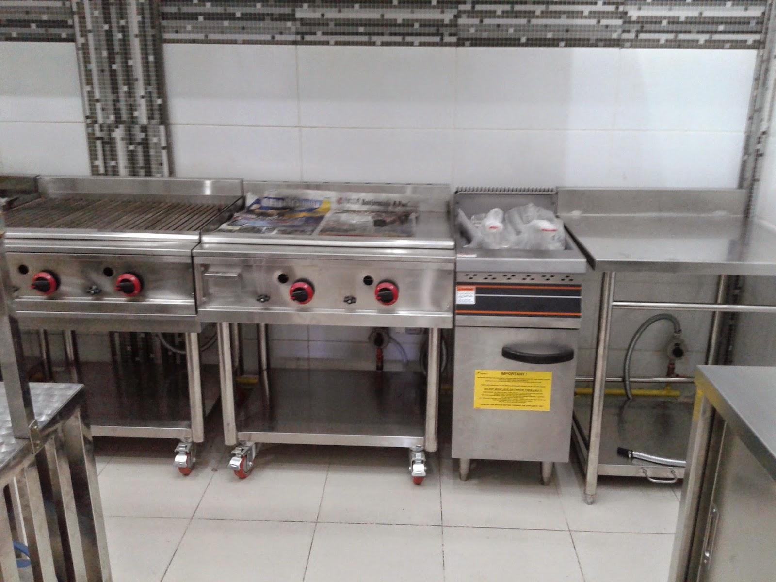 Peralatan Dapur Restoran Stainless Steel Desainrumahid