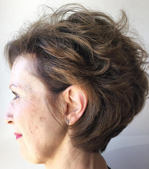 Hairstyles For Short Hair Over 45 : ... Woman Kids Photos Pics: Best Short Hairstyles Photos For Women Over 45