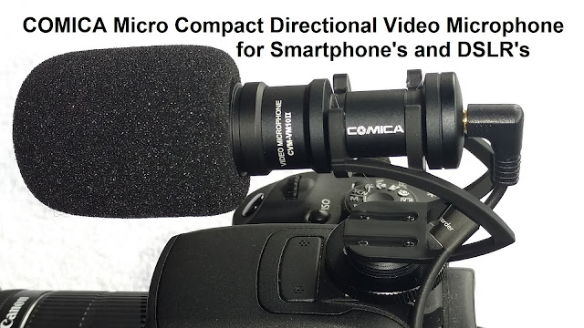 COMICA Micro Compact Video Microphone