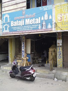 Balaji Metals Tirupati Bronze idol Makers