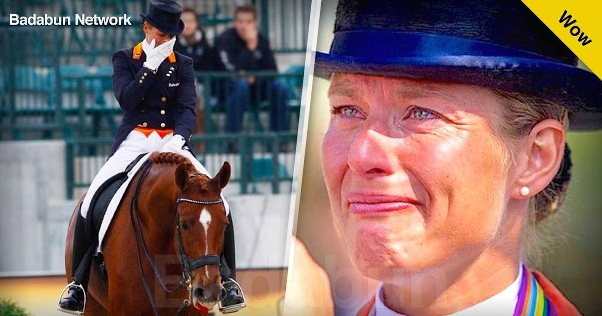 olimpiadas Parzival Adelinde caballo retira