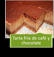 TARTA DE CAFÉ Y CHOCOLATE SIN HORNO