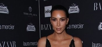 Έλαμψε η Kim Kardashian μέσα από see through φόρεμα