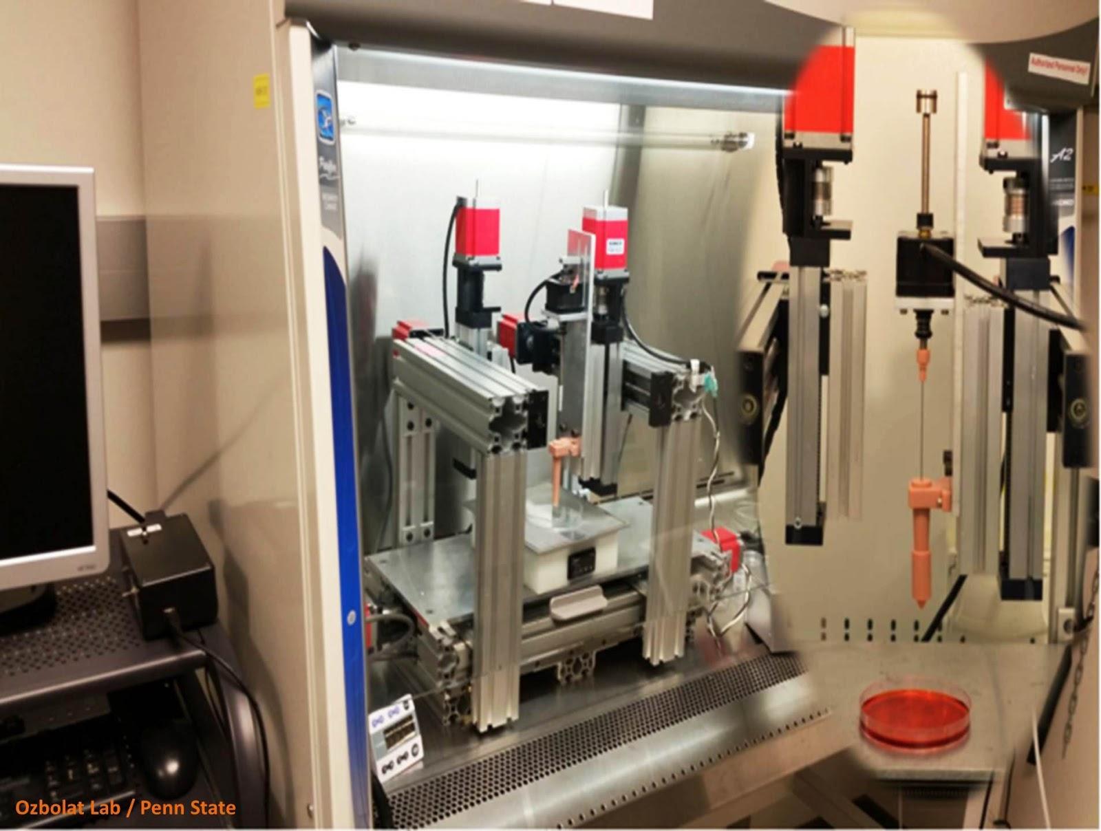 هل يمكن استخدام الطباعة ثلاثية الأبعاد في طباعة نسيج عضوي؟
