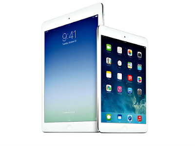 iPad Air and iPad mini with Retina display