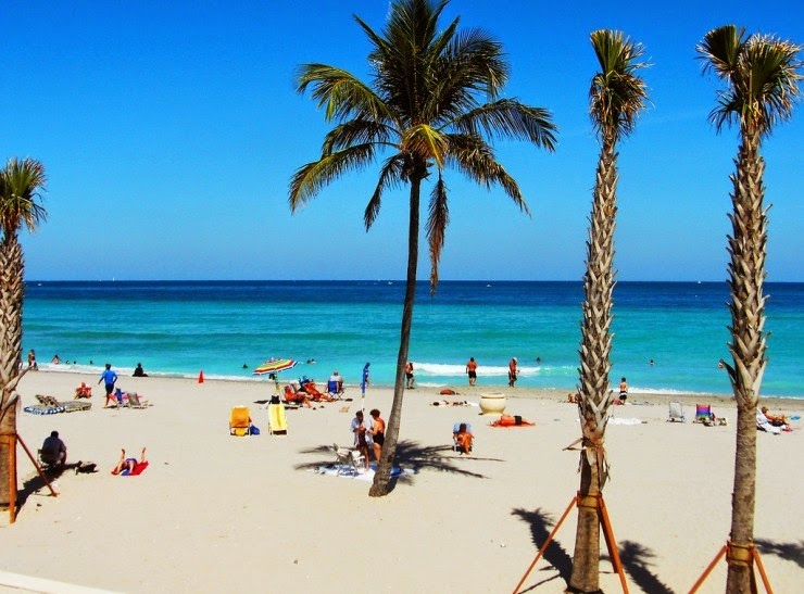 8. Hollywood Beach, Florida, USA - Top 10 Beaches to Go to in 2015