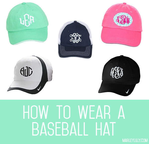 Header - How to Wear A Baseball Hat