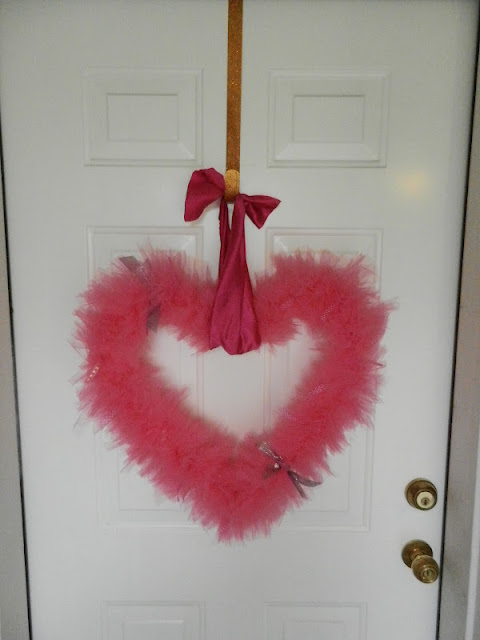 Valentine's Door Wreath Tutorial