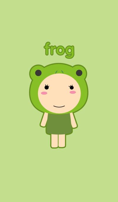 Simple Girl Frog theme(jp)
